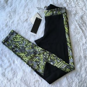 Adidas quick drying workout tights nwt